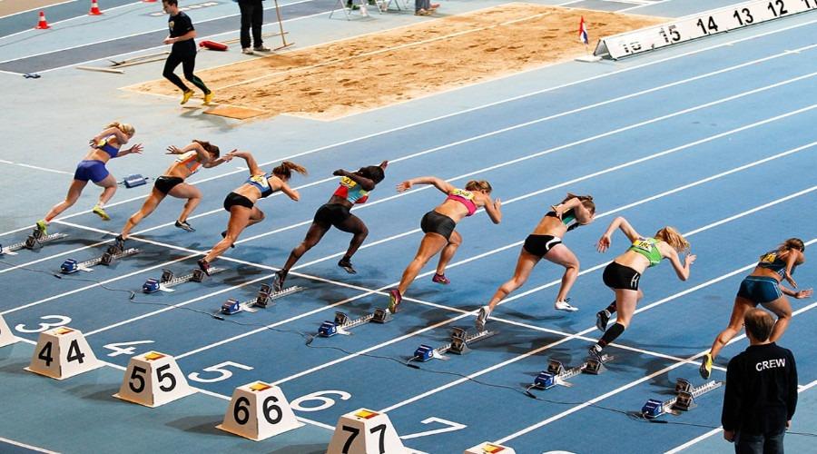 Programma NK Indoor Atletiek 2021 (Foto Omnisport Apeldoorn)