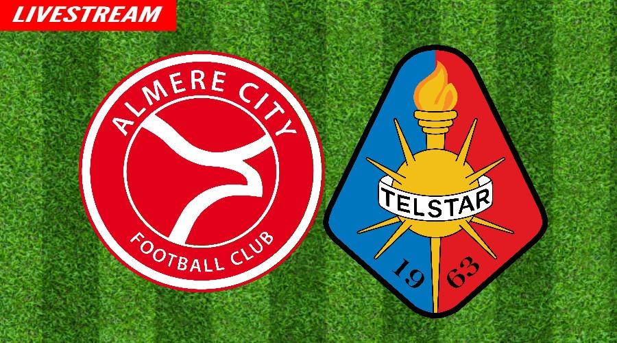 Almere City - Telstar kijken via een gratis livestream