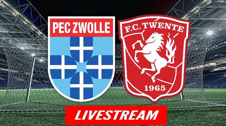 Livestream PEC Zwolle - FC Twente