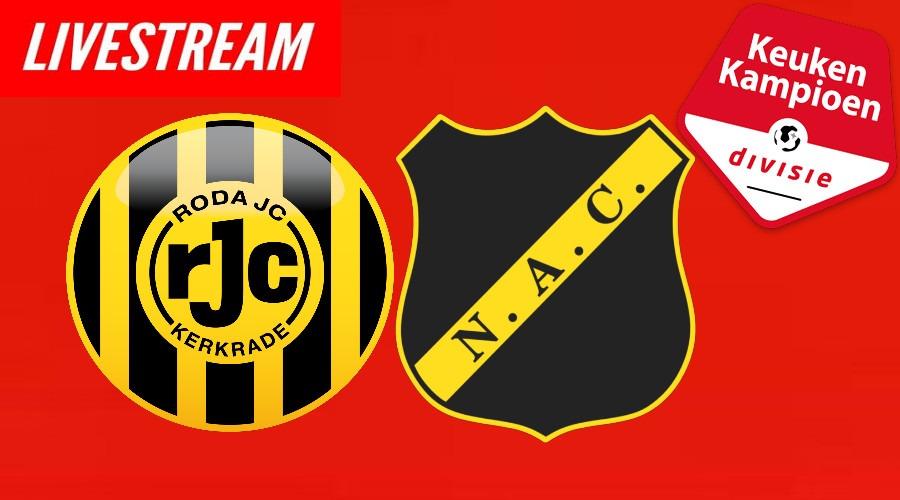 Livestream Roda JC - NAC Breda Keuken Kampioen Divisie