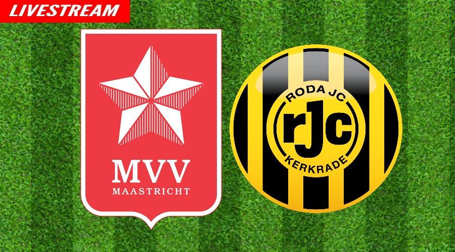 MVV - Roda JC kijken via een gratis livestream