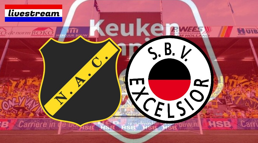 NAC - Excelsior kijken via een live stream