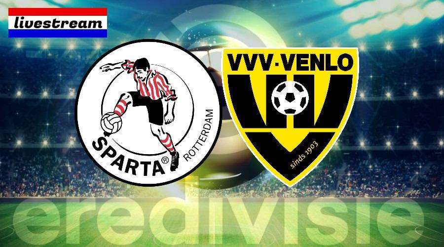 Sparta - VVV voetbal livestream gratis