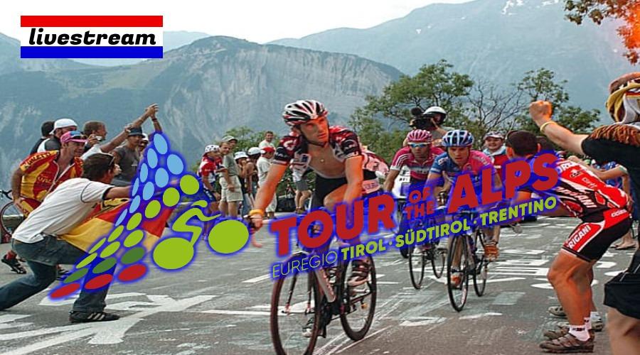 Tour of the Alps 2021 waar op televisie te zien (Foto Wallpaperflare)