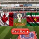Kijk hier nu Canada – Suriname via een livestream