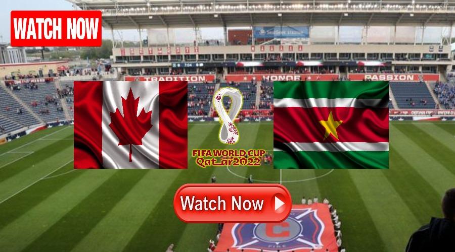 Kijk hier nu Canada - Suriname via een livestream