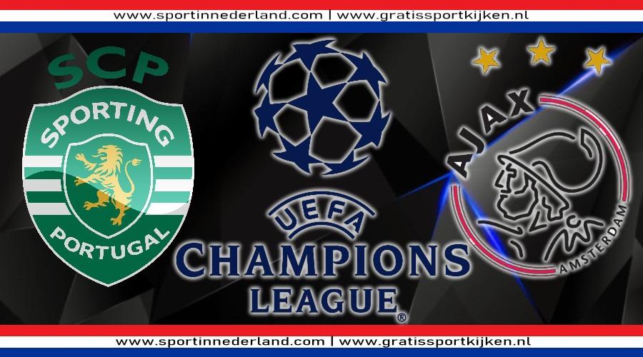 Gratis live stream Sporting - Ajax en Besiktas - Dortmund