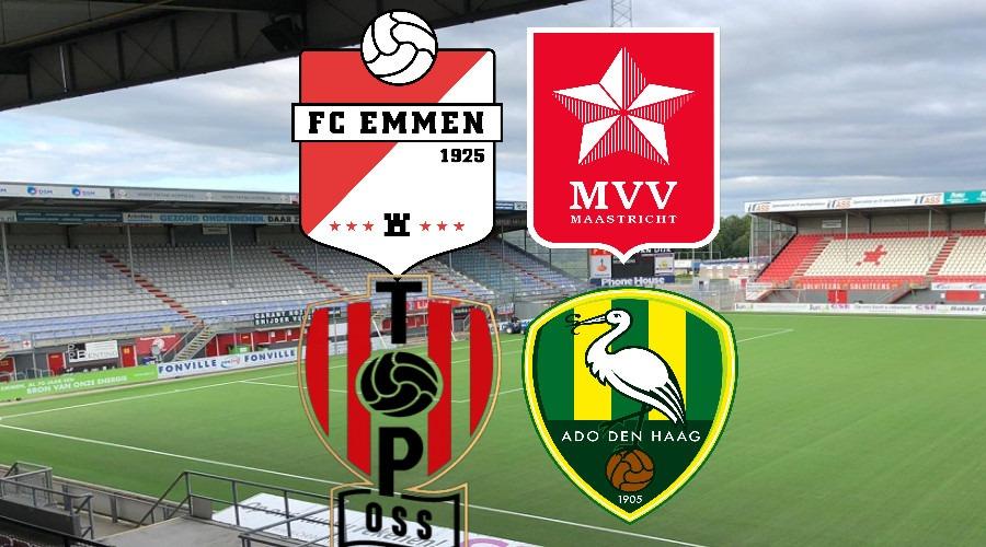 Live stream FC Emmen - MVV en TOP Oss - ADO Den Haag